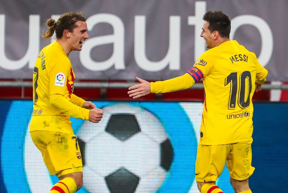 Barcelona Salvage 3 Points Against Athletic Club To Climb Up To The Top 3