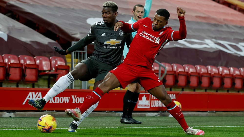 Manchester United vs Liverpool Ends In Goalless Draw