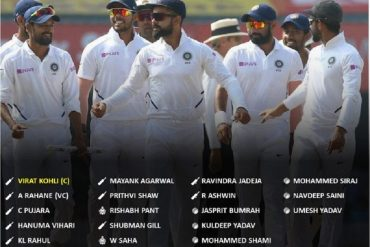 BCCI Announces India Squad For First Two Tests Against England