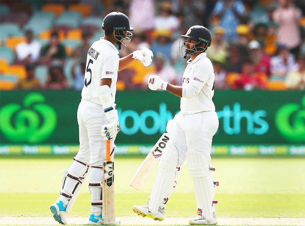India Outshine Australia On Day 3 of the 4th Test Match