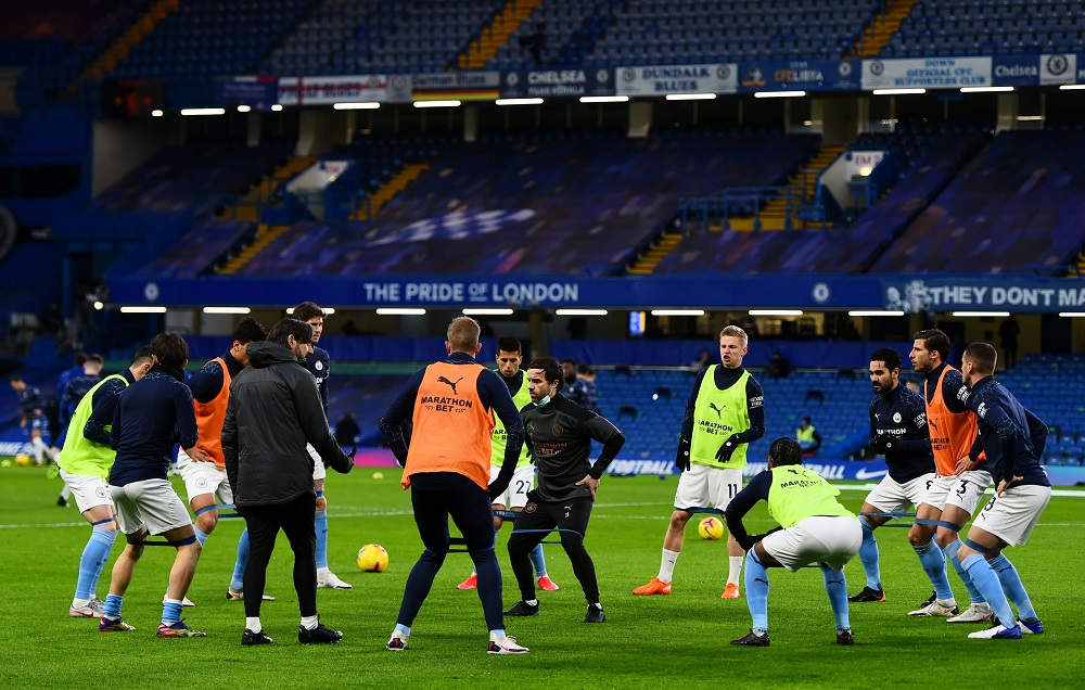 Manchester City Thrash Chelsea To Climb Up To Top 5