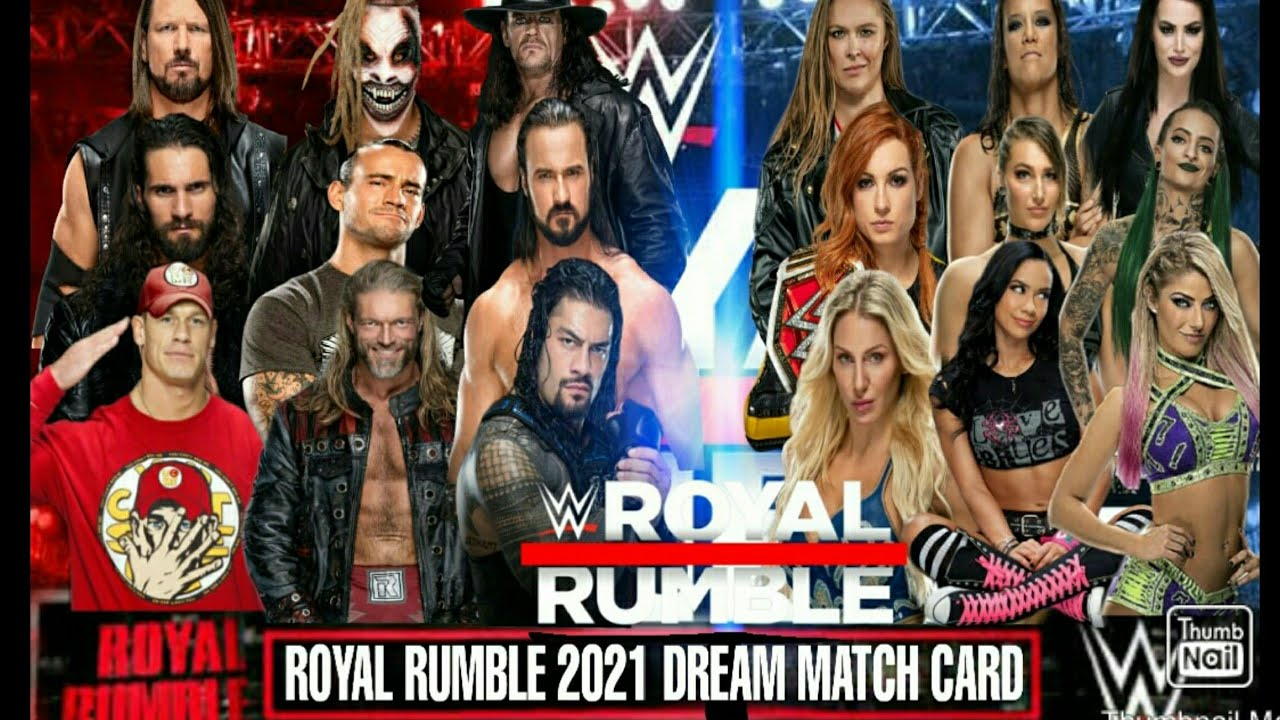 Royal Rumble 2021- Professional Wrestling Pay-Per-View Event