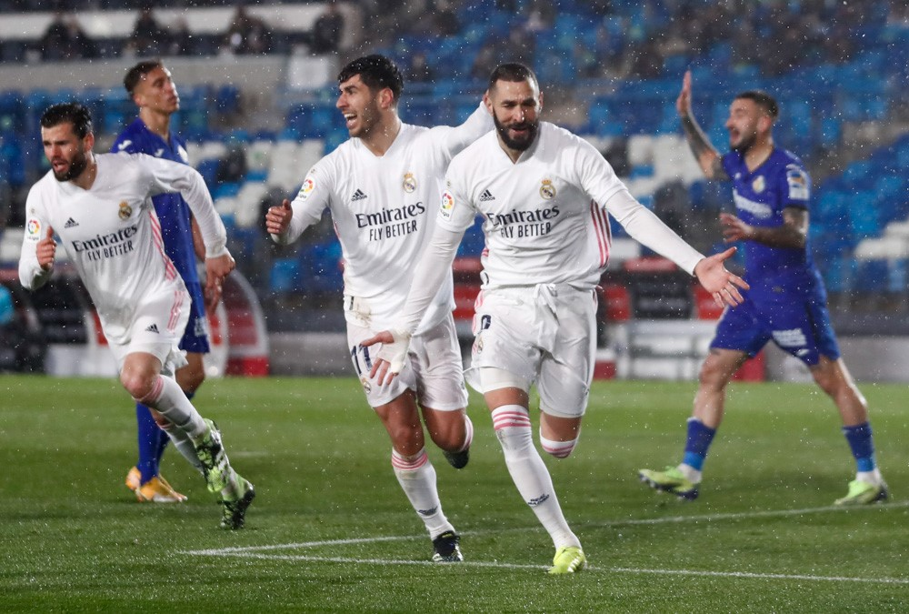 Real Madrid Beat Getafe To Climb Back To 2nd Position In The La Liga Points Table
