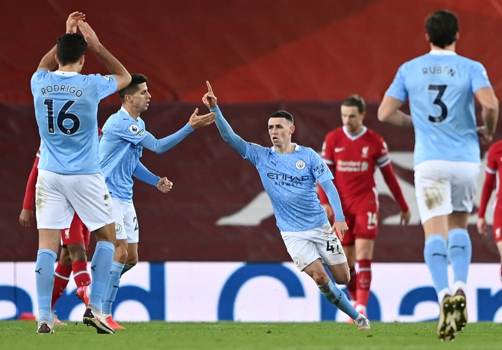MCFC Crush LFC To Move A Step Closer To The Premier League Title