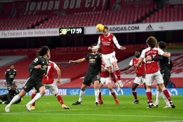 Arsenal Salvage A Point Against Manchester United In A Goalless Draw At Home