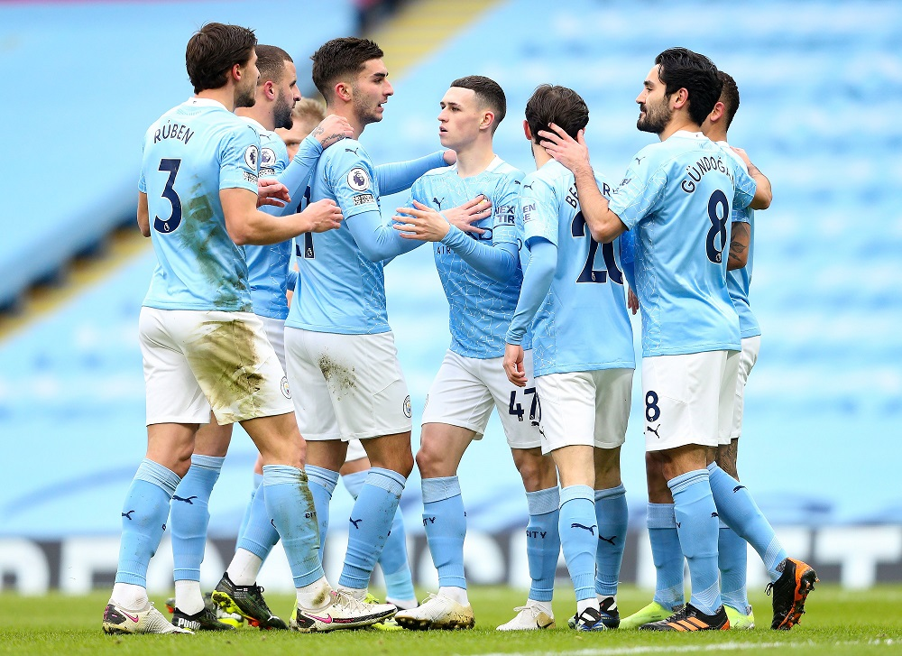 Manchester City Beat Sheffield United To Extend Their Lead In The Premier League Points Table