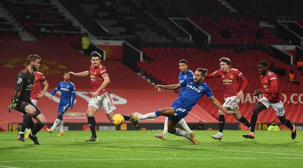 Manchester United Drop 2 Points As Everton Salvage A Late Draw