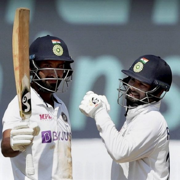 Rishabh Pant Fires England Bowlers With The Bat On Day 3 Of The 1st Test Match In India