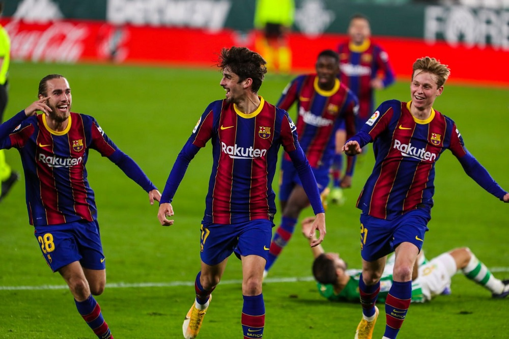 FCB Make Yet Another Comeback Against RBB To Move Back To 2nd Position In The La Liga Points Table