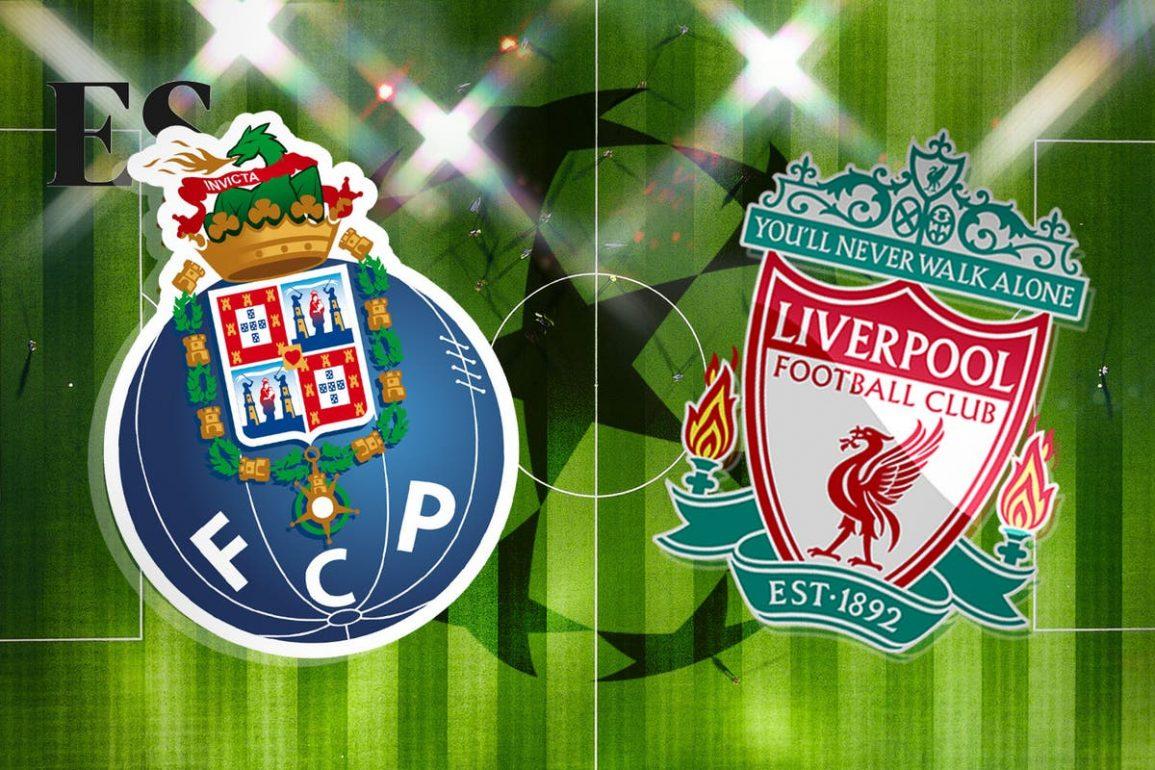 Porto Vs Liverpool predictions