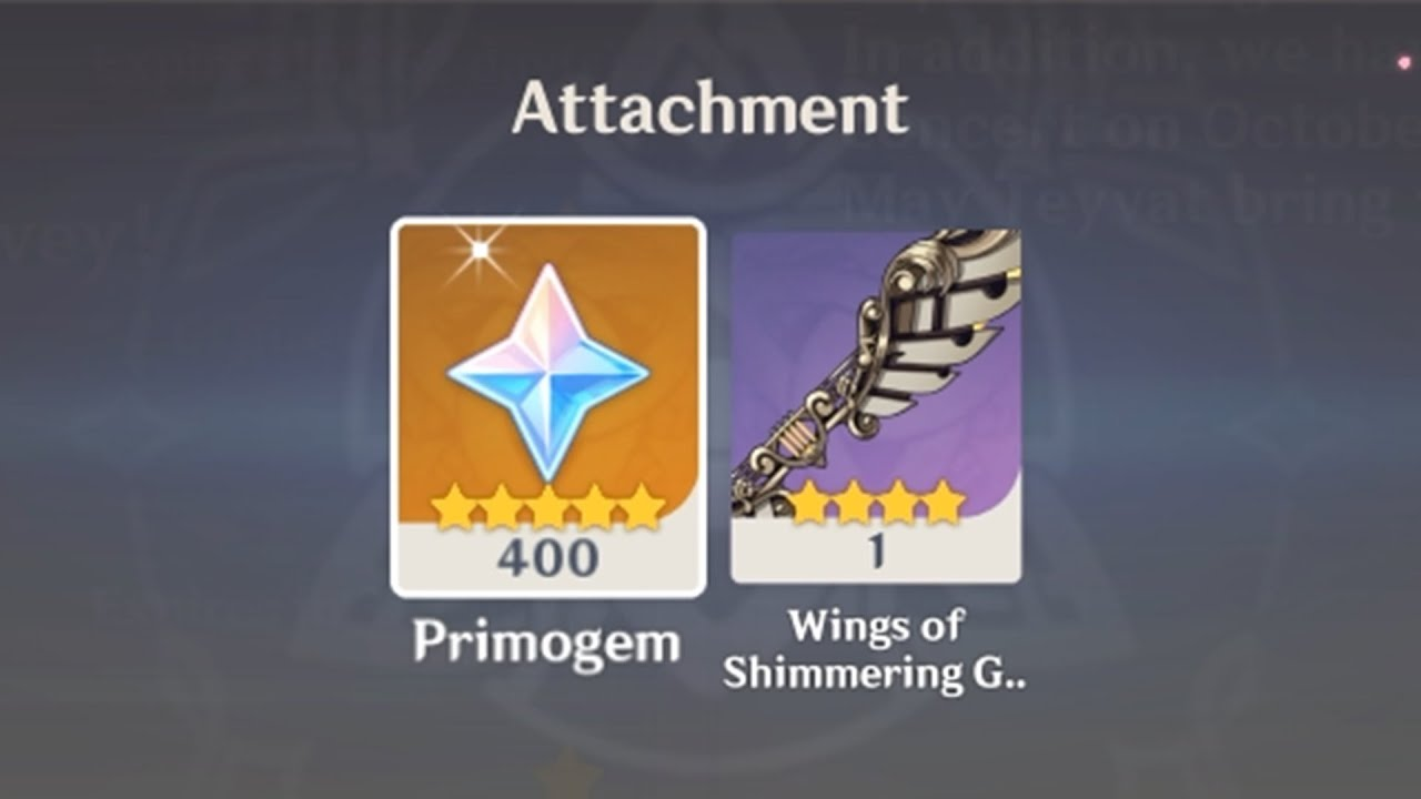 How To Get Wings Of Shimmering Galaxy In Genshin Impact? The First Anniversary Of Genshin Impact