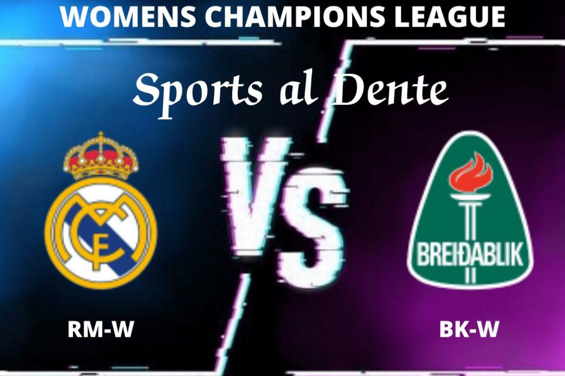 Real Madrid Women vs Breidablik Women Predictions