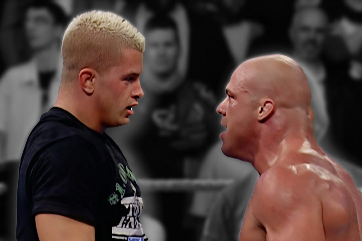 Did Daniel Puder Try To Break Kurt Angle's Arm?