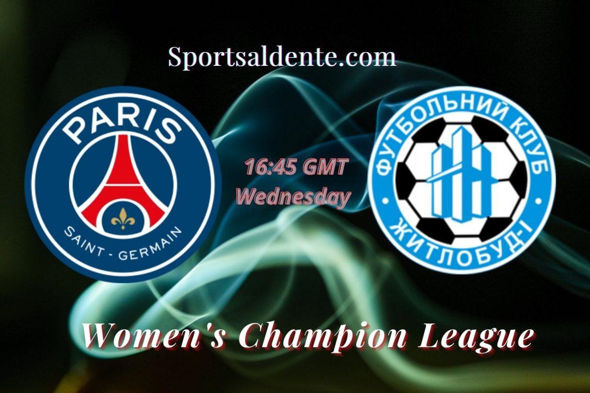 PSG Women vs Zhytlobud-1 Women